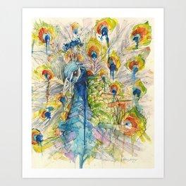 """Proud Plummage"" Art Print"