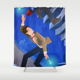 The Eleventh Who? Shower Curtain