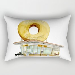 Randy's Donuts Rectangular Pillow
