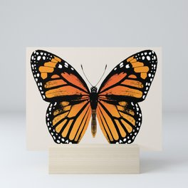 Monarch Butterfly | Vintage Butterfly | Mini Art Print