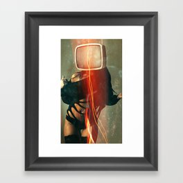 SEX ON TV - BLANCHE by ZZGLAM Framed Art Print