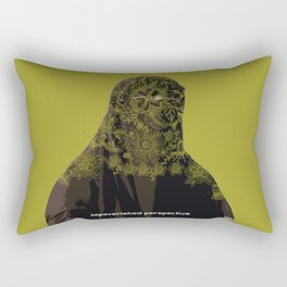 Impoverished perspective Rectangular Pillow