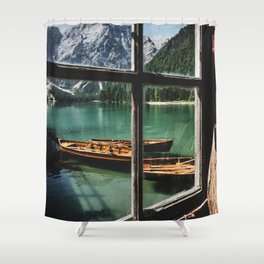 Road Trip 26 - Dolomites Shower Curtain