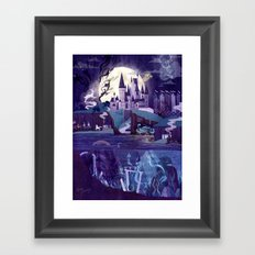 Never a Quiet Year at Hogwarts Framed Art Print