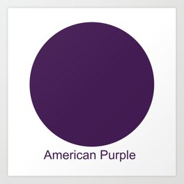 American Purple Art Print