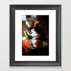 The fly Framed Art Print