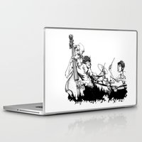 band Laptop & iPad Skins featuring The Band by maxandr