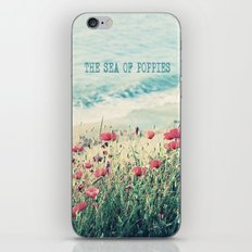 Sea of Poppies iPhone Skin