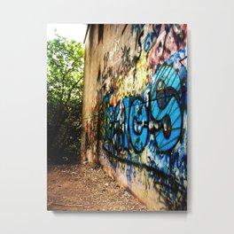 A -not so- clear path Metal Print