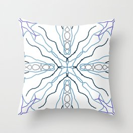 scope of blues Throw Pillow