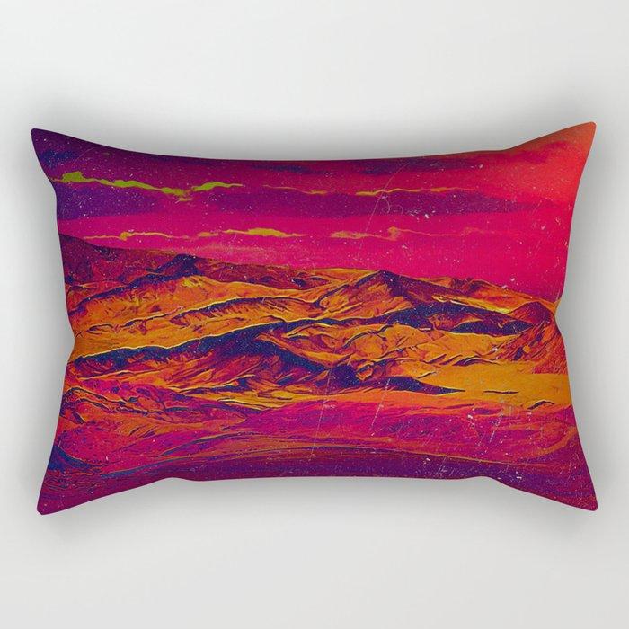 Time Wind Rectangular Pillow