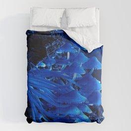 Blue Moon Mushrooms  Comforters