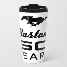 Ford Mustang 50 Years Metal Travel Mug