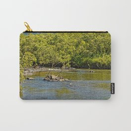 Beautiful river in the tropics Carry-All Pouch