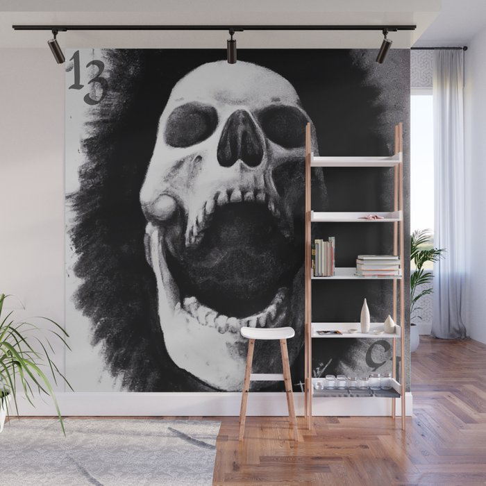 chared Wall Mural