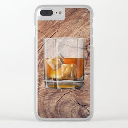 whiskey Clear iPhone Case