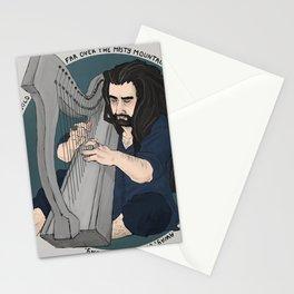 harpist Stationery Cards