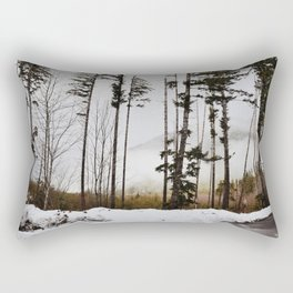 winter trees Rectangular Pillow