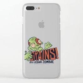 GRAINS Clear iPhone Case