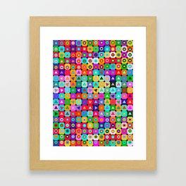 Op Art (LOVE) Framed Art Print