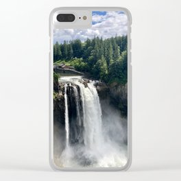 Over the Falls Clear iPhone Case