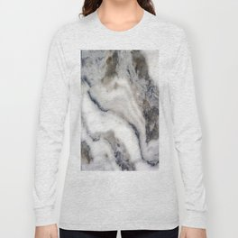 Marble Stone Texture Long Sleeve T-shirt