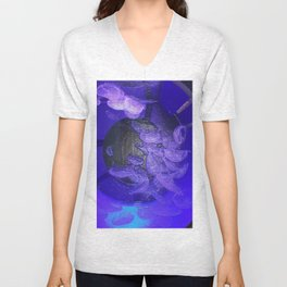 Acrylic Jelly Fish Unisex V-Neck
