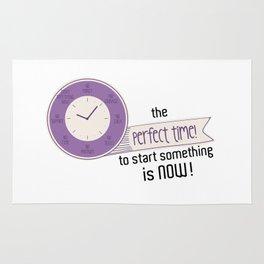 Start Now! Rug