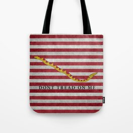 First Navy Jack flag of the USA, vintage Tote Bag
