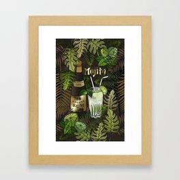 Mojito Framed Art Print