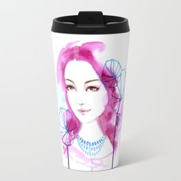 Giselle. Watercolor painting Travel Mug
