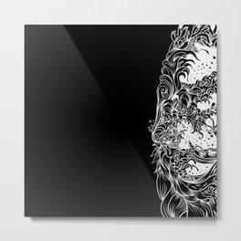 Sleeve Dark Metal Print