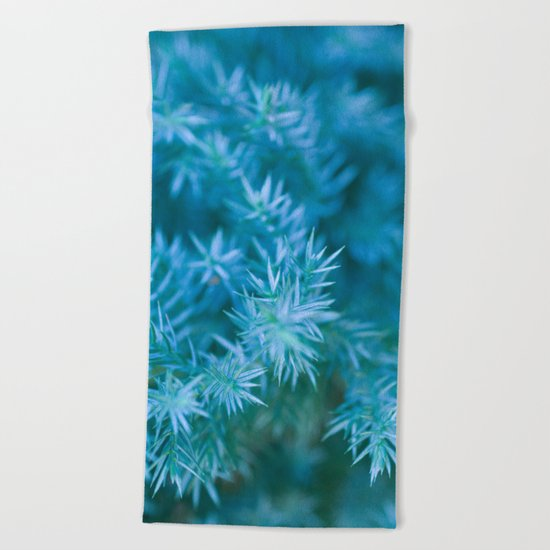 ENCHANTED GREEN #1 #art #society6 Beach Towel