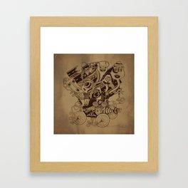 Monster RoadTrip! Framed Art Print