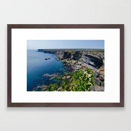 Inis Mór Framed Art Print