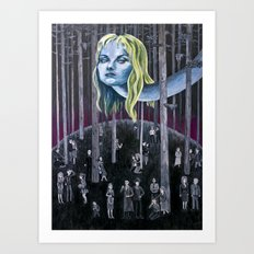 Who Killed Laura Palmer? ( Twin Peaks ) Art Print