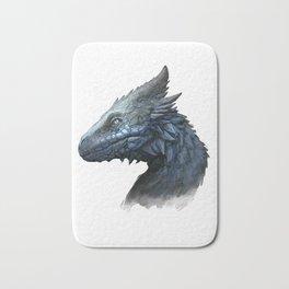 Sapphire Dragon Bath Mat