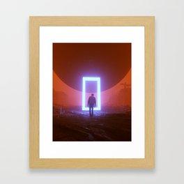 INFINITE LOOP (everyday 08.06.18) Framed Art Print