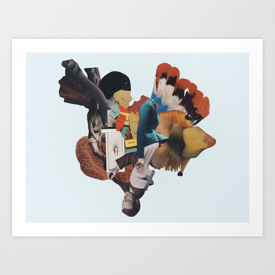 the nerium spring Art Print