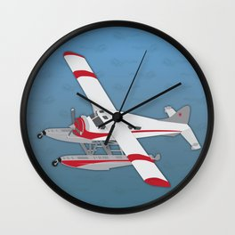By Air or By Sea Wall Clock