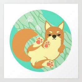 Chai Dog Art Print