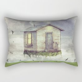 back down to earth Rectangular Pillow