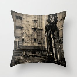 Candid Cosplay Throw Pillow