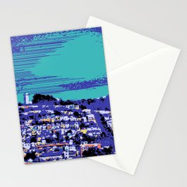 Night Over the San Francisco Mission Stationery Cards