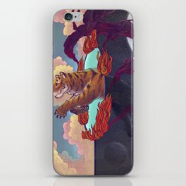 Ring of Fire iPhone Skin