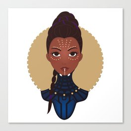 Dora Milaje Canvas Print