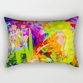 Abstract - Perfektion 91 Rectangular Pillow