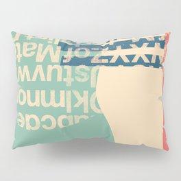 gum letter Pillow Sham