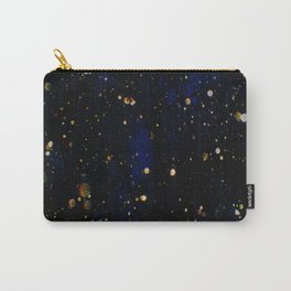 Glittered Snow Carry-All Pouch