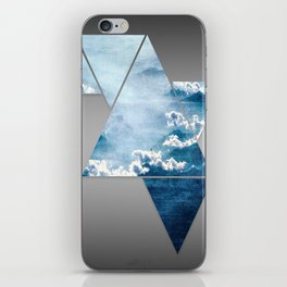 Fragmented Clouds iPhone Skin